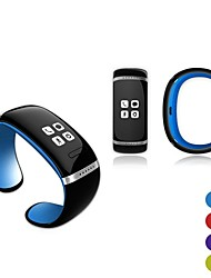 Activity Tracker OLED Bluetooth 3.0 Smart Bracelet Watch with Music Player / Answer Call / Pedometer