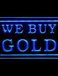 мы покупаем золото рекламную LED Light знак