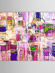 IARTS®Hand Painted Oil Painting Abstract Colors with Stretched Frame