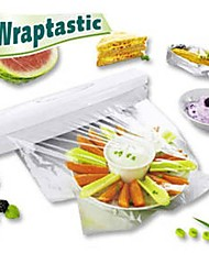 Food Wrap Dispenser Aluminum Foil Wax Paper Cutter