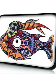 Elonno Strange Fish Neoprene Laptop Sleeve Case Bag Pouch Cover for 7'' Samsung Galaxy Tab iPad Mini