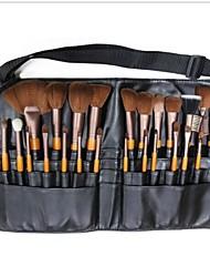 25Pcs Professional Makeup Brush Set Portable Pockets