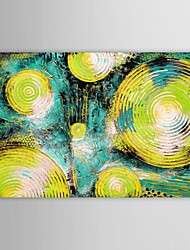 IARTS®Hand Painted Oil Painting Abstract Vortex Painting Thick Painted with Stretched Frame