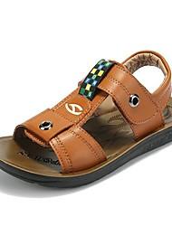 Hubby Bear ® Meninos Outdoor Microfibra PU Lazer Praia Sapatos cores sortidas, Assorted Tamanho