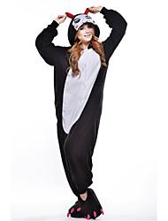 Le nouveau diable Cosplay Polaire adulte Kigurumi pyjama
