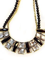 Meet You Gem Necklace Inlaid With Austrian Rhinestone