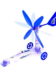 Wind Power Car Toys(Purple)