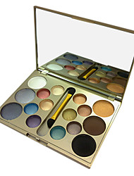 Sixteen Colors Eyeshadow Powder Meet Different Needs
