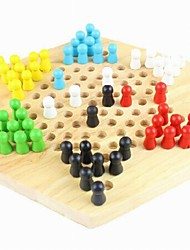 Children's Intelligence Wooden Multi-function of Draughts Game