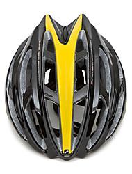 MTP 26 Вентс EPS + PC Черный Желтый интегрального под давлением Велоспорт Шлем (58-63см)