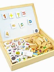 Children's Domino Magnetic Plate Blocks of Educational Toys