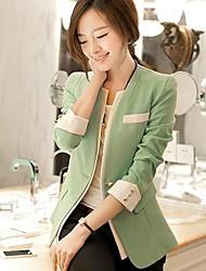 Women's Sleeveless Blazer , Polyester Regular Sexy