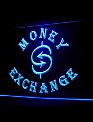 troca de dinheiro aqui publicidade levou sinal de luz