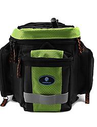rongruihr panno impermeabile indossabile mountain bike sacchetto impermeabile verde e nero 1608d tronco con striscia riflettente