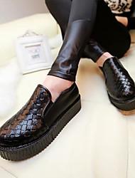 женские плоским пятки круглые бездельники носок обуви