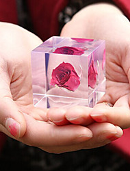 Japanese Rose Style Cube for Weather Report