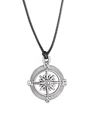 Fashion Stainless Steel Compass Pendant Necklace  Jewelry Christmas Gifts
