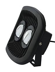 AC85-265V 60W 60 Degree LED Waterproof Aluminium Flood Light in Black