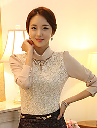 Women's Tops & Blouses , Chiffon/Lace Casual WLLE