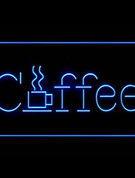 Jamaica Coffee Advertising LED Light Sign