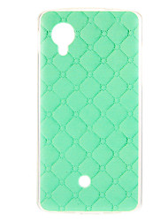 For LG Case Pattern Case Back Cover Case Geometric Pattern Soft TPU LG