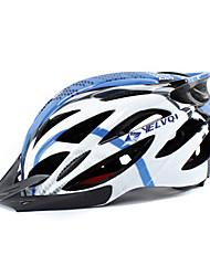 YELVQI 26 Vents EPS + PC Azul Integralmente-moldados Capacete de Ciclismo (54-64 centímetros)