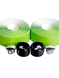 NUCKILY PU Carbon Green Road Bike Ribbon