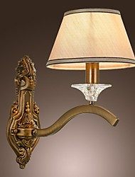 Wall Lamps,1 Lights Elegant European Artistic