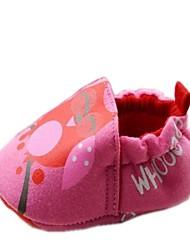 Katoen jongen Flat Heel ronde neus Instappers met Gore en Slip-on Schoenen