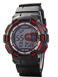 Fashion Children Multifunction LED Digital Sports Wrist Watch 50m Waterproof (Assorted Colors)
