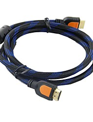High Definition 1080P HDMI Male to Male  Adapter Cable (150cm)