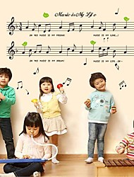 Doudouwo®  Music Leisure  Life Wall Stickers