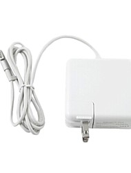 "Elonbo Simple and Pure White Design 85W New Elbow Notebook Power Adapter for 15"" Macbook Pro"