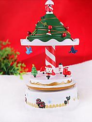 "9.2""Christmas Theme Carousel Design Music Box(Music:Castle in the Sky)"