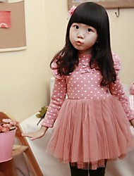 Girl's Fashion Casual Lovely Angel Wings Dress