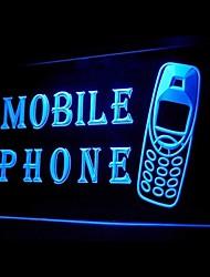 publicidade de telefonia móvel levou sinal de luz