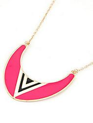 JoJo & Lin Fluoreszenz-Farb Mond Muster Schlenker Halskette
