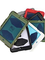 robot ontwerp open-face kunststof case voor de iPad mini 3, ipad mini 2, ipad mini