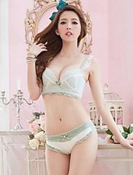 sexy bonito conjuntos de sutiã menina das mulheres