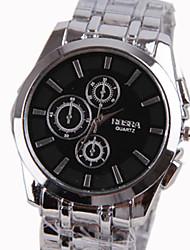 reloj de la venda de acero de los hombres de negocios informales shinuo nuevo estilo