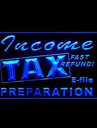 preparação publicidade imposto de renda levou sinal de luz