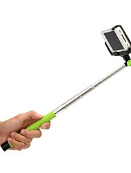 Bluetooth Wireless Mobile Phone Monopod para iOS 4.0 y el sistema anterior - Negro, verde, color de rosa