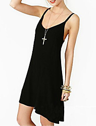 TS Strap Dress , Chiffon Mini Sleeveless