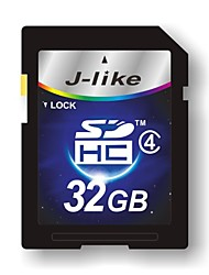 32GB J-achtige Class4 SD SDHC Flash Memory Card