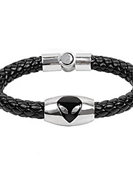 Men's Serpentine Diamond Cat's Eye Weave Bangle
