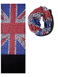 KORAMAN Outdoor The British Flag Cycling Fleece and Polyester Dry Amazing Magic Scarf Headband