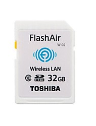 Toshiba FlashAir Wireless WiFi 32GB Class 10 SDHC Memory Card