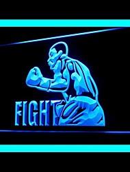 бокс борьба истребитель реклама привело свет знак