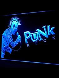 Punk Rock Roll Werbung LED-Licht Anmelden