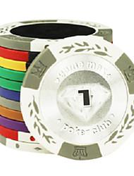 1 $ espiga de trigo padrão argila mahjong brinquedos entretenimento poker chip texas hold'em